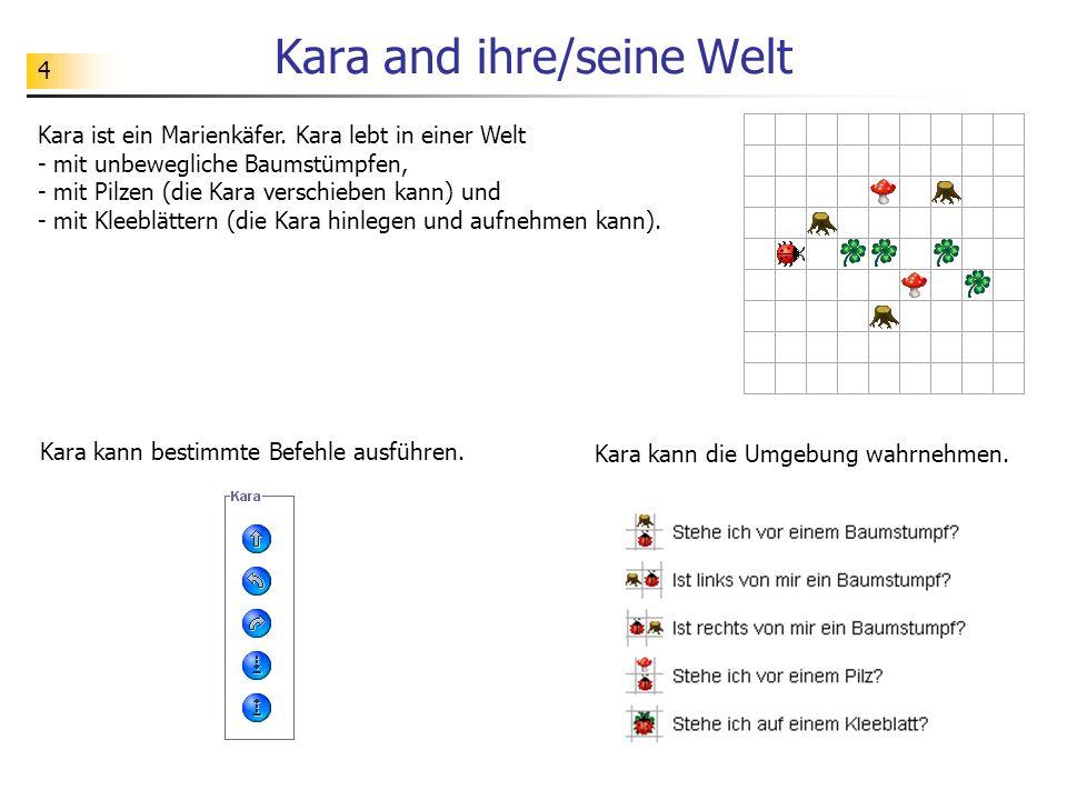 Kara and ihre/seine Welt