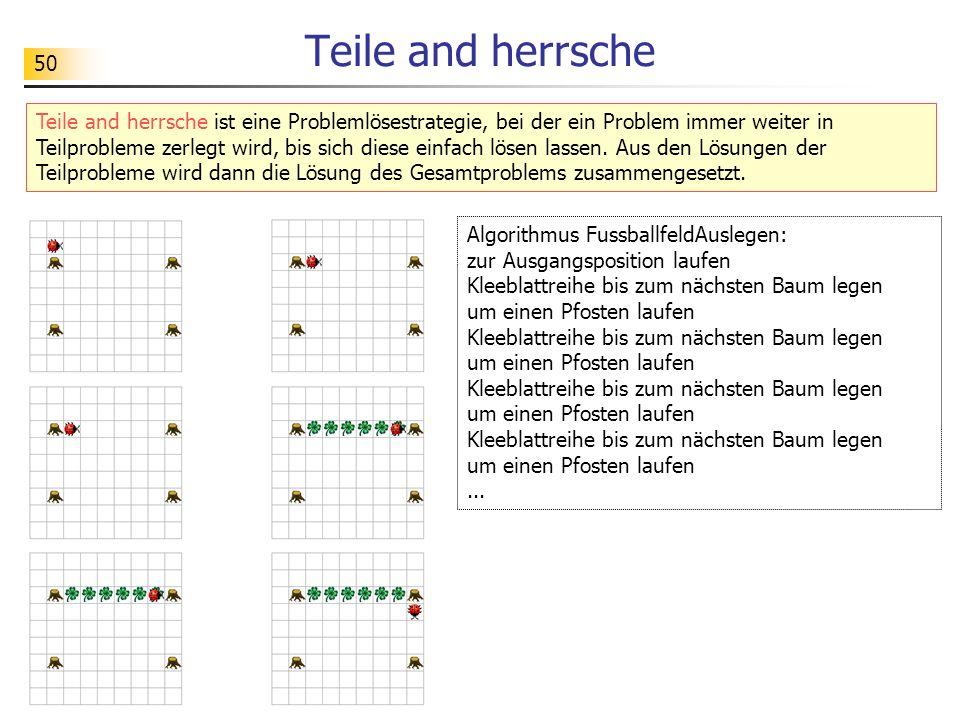 Teile and herrsche