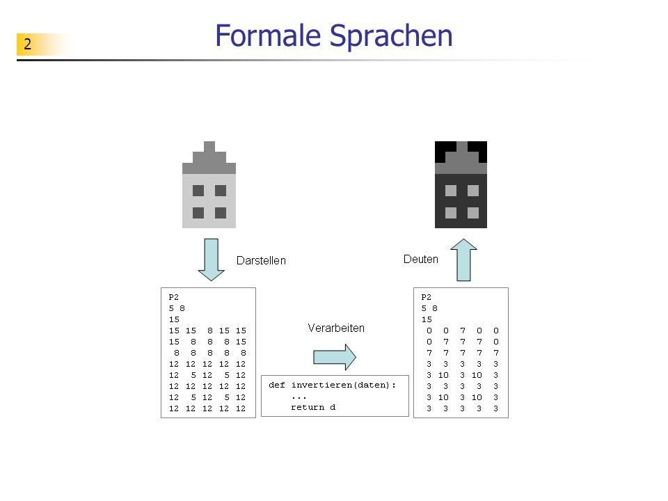 Formale Sprachen