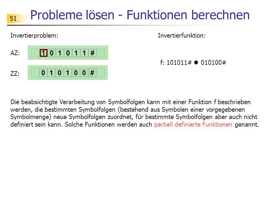 Probleme lösen - Funktionen berechnen