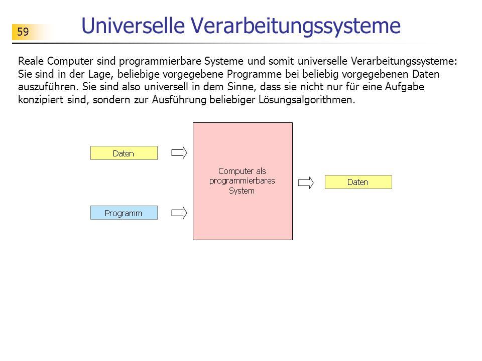 Universelle Verarbeitungssysteme