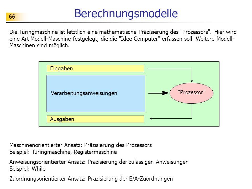 Berechnungsmodelle