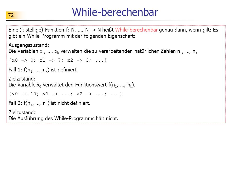 While-berechenbar