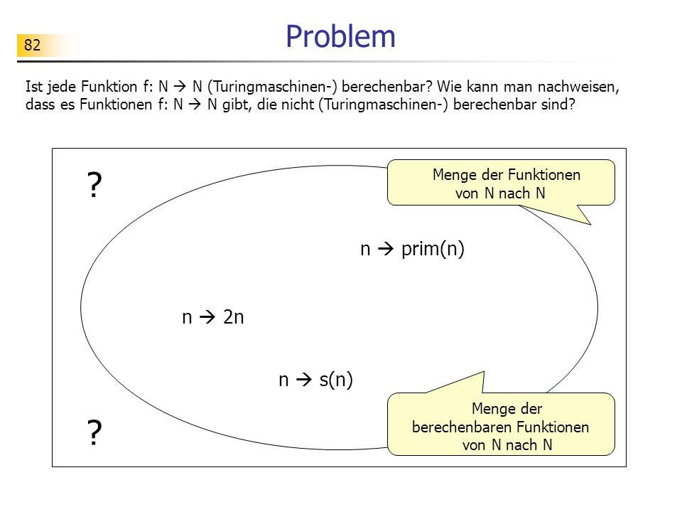 Problem n  prim(n) n  2n n  s(n)