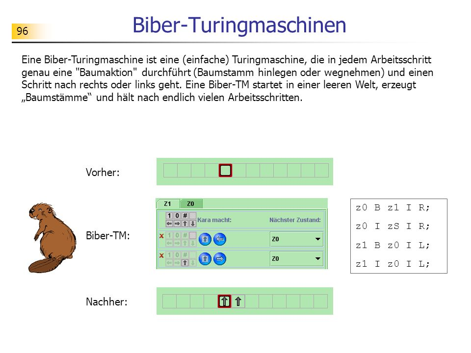 Biber-Turingmaschinen