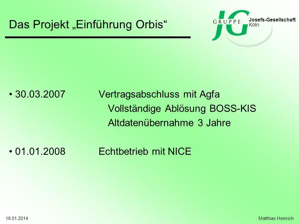 """Das Projekt """"Einführung Orbis"""