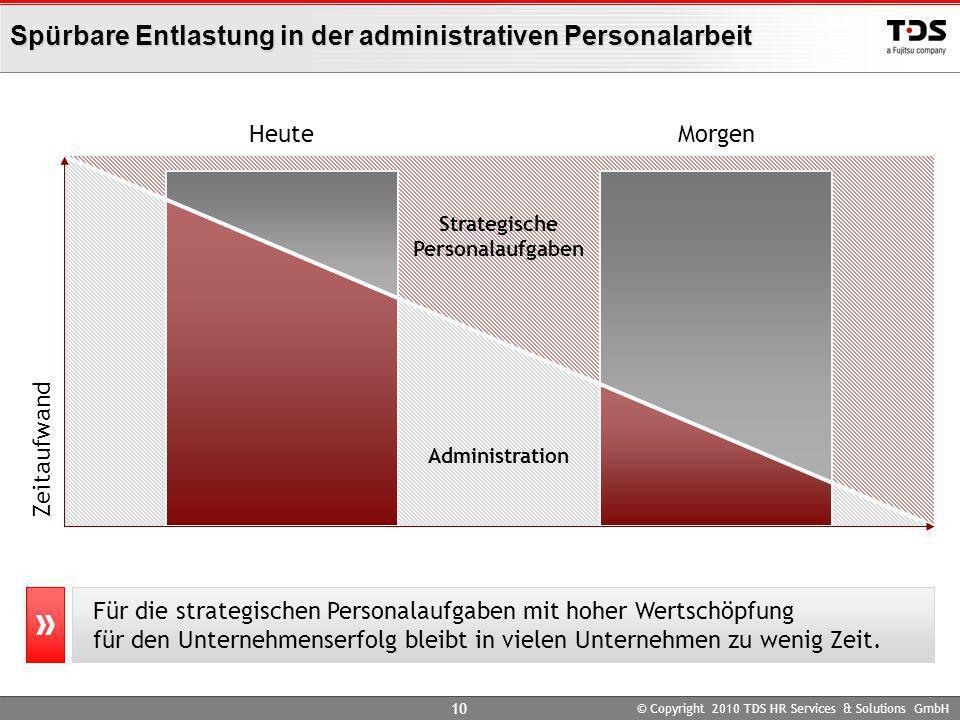Spürbare Entlastung in der administrativen Personalarbeit