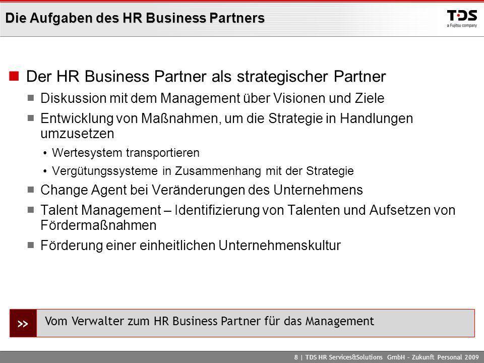 Die Aufgaben des HR Business Partners