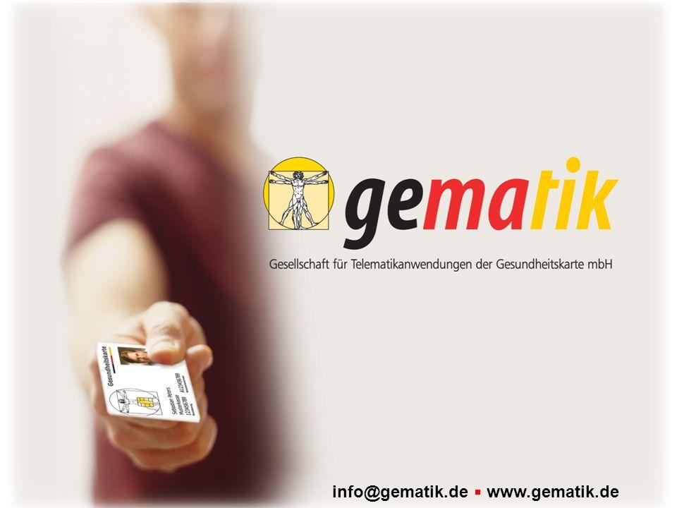info@gematik.de www.gematik.de