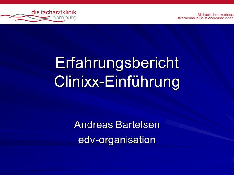 Erfahrungsbericht Clinixx-Einführung