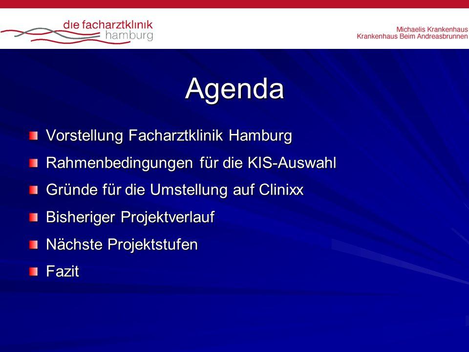 Agenda Vorstellung Facharztklinik Hamburg