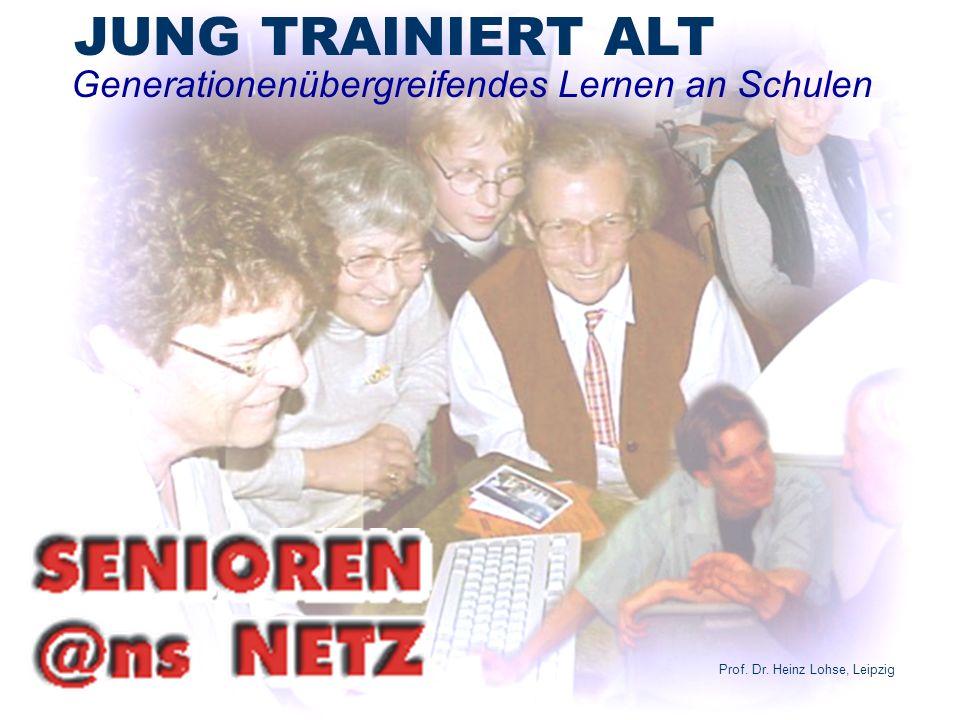 Generationenübergreifendes Lernen an Schulen