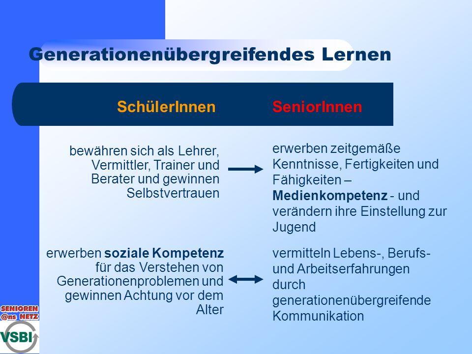 Generationenübergreifendes Lernen