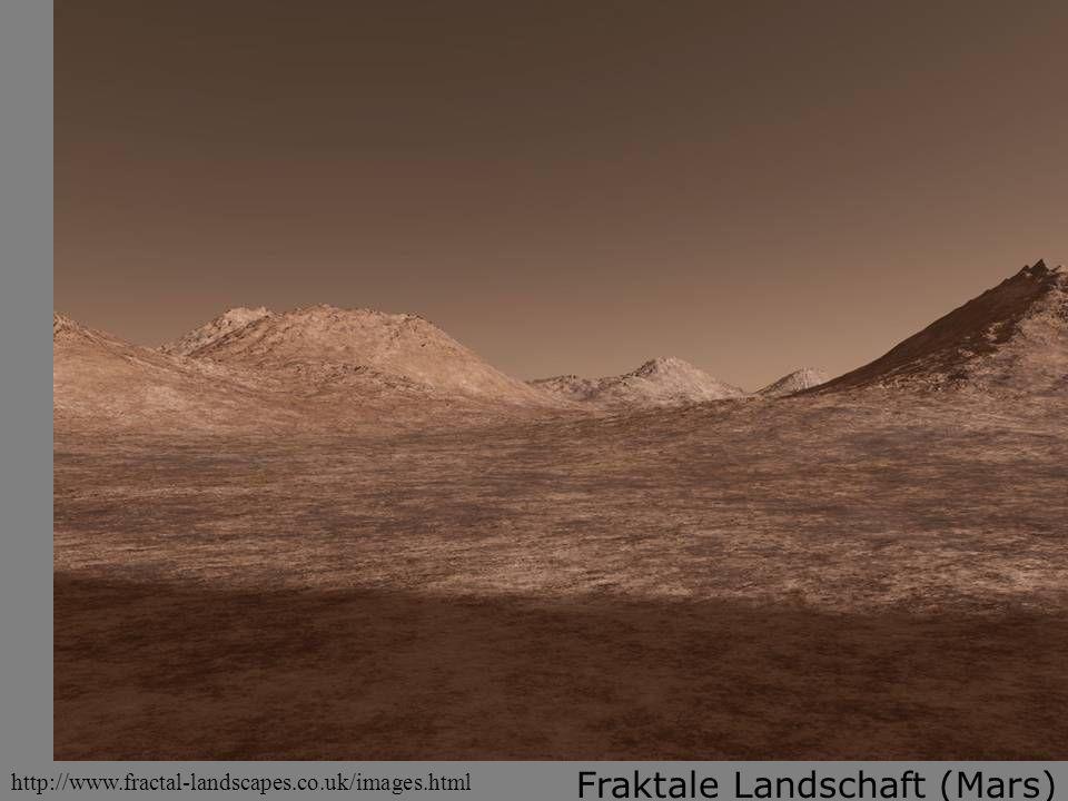 Fraktale Landschaft (Mars)