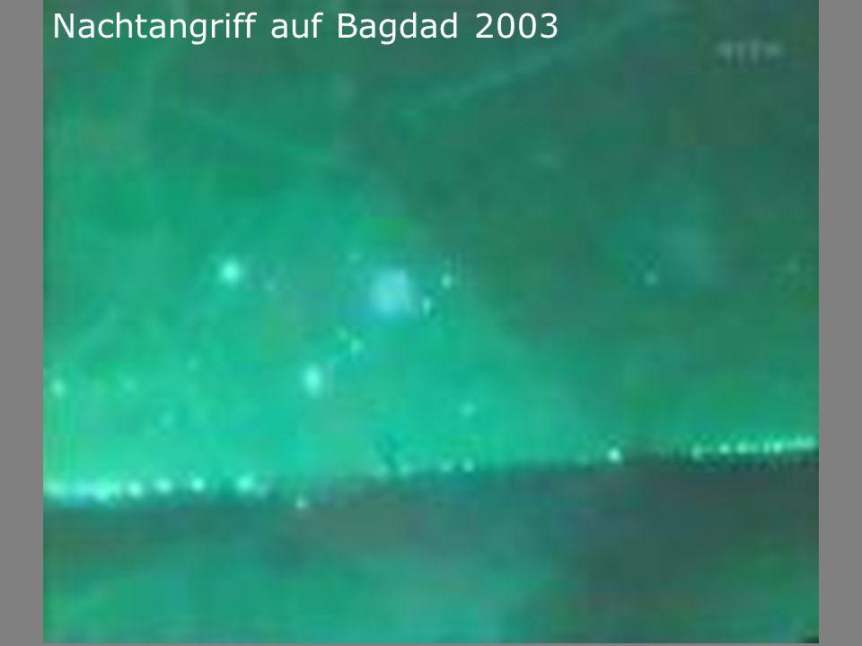 Nachtangriff auf Bagdad 2003