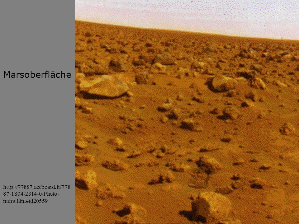 Marsoberfläche http://77887.aceboard.fr/77887-1804-2314-0-Photo-mars.htm#id20559