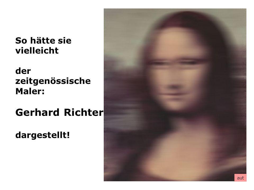 Gerhard Richter So hätte sie vielleicht der zeitgenössische Maler: