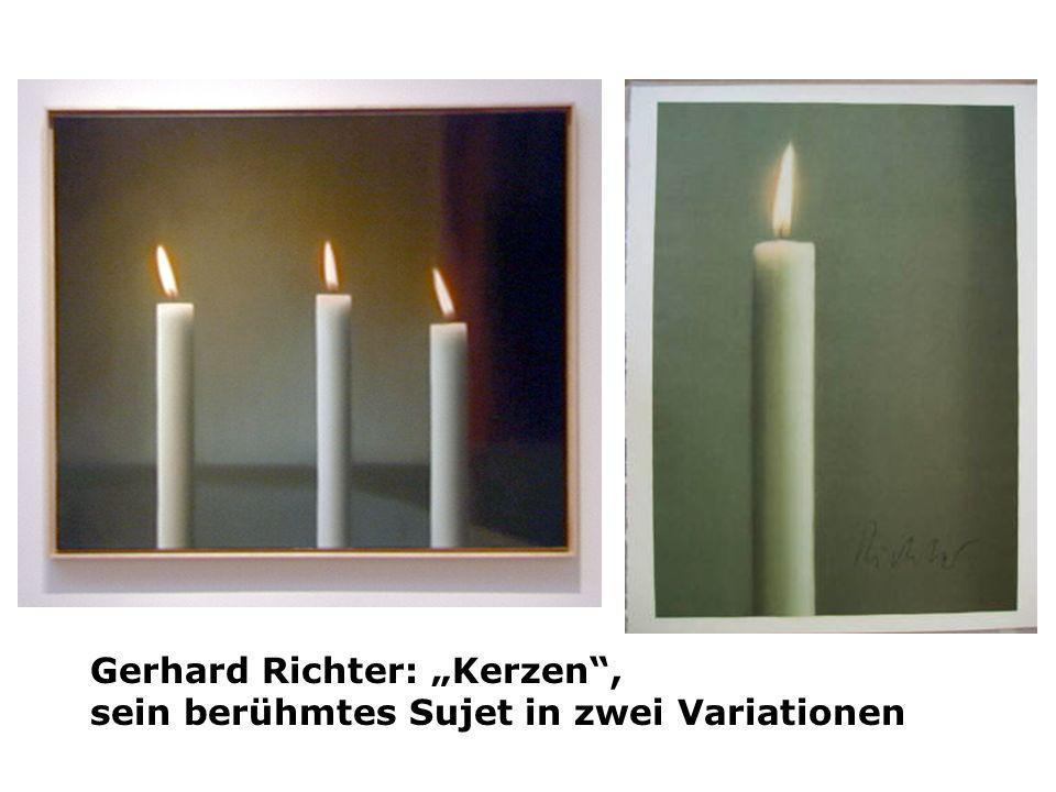 "Gerhard Richter: ""Kerzen ,"