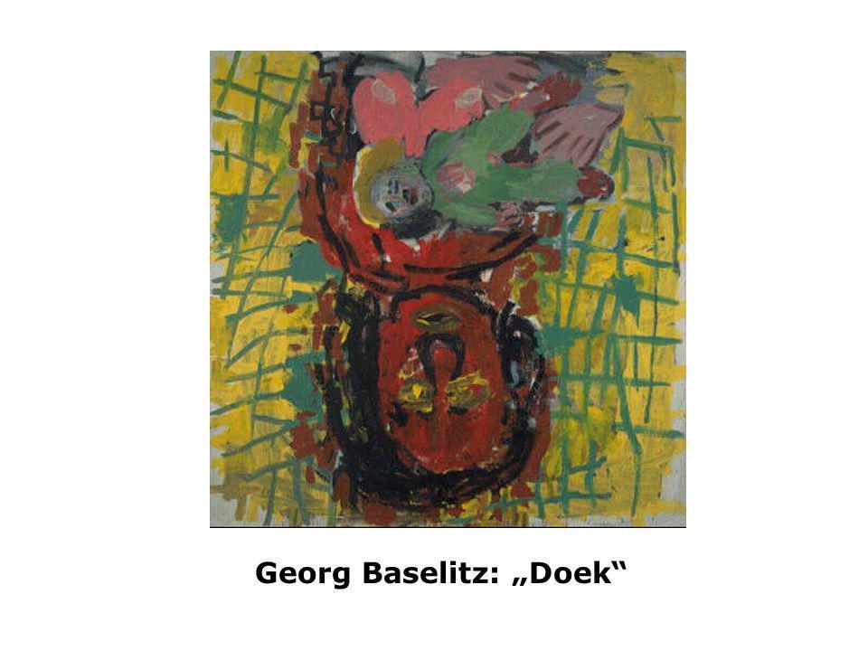 "Georg Baselitz: ""Doek"