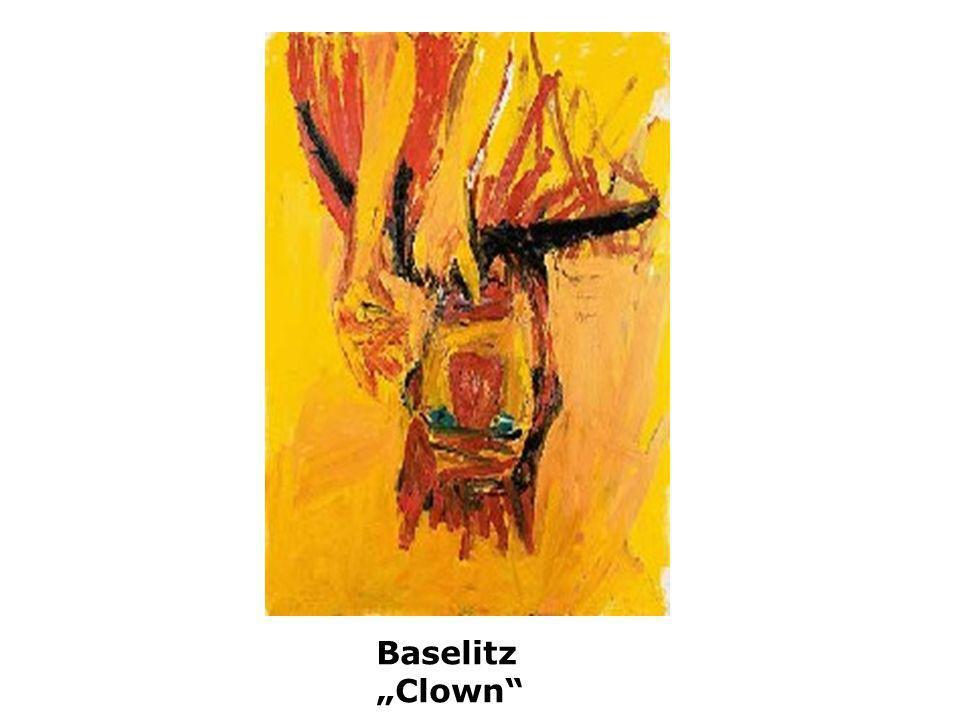 "Baselitz ""Clown"