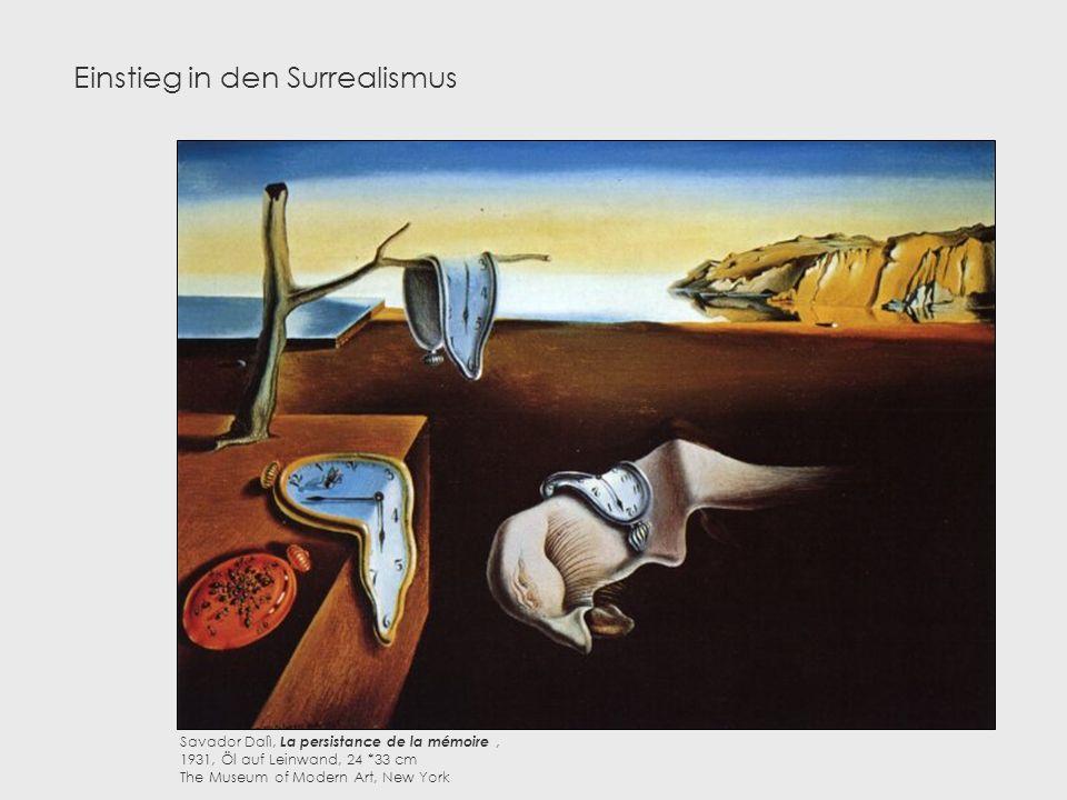 Einstieg in den Surrealismus