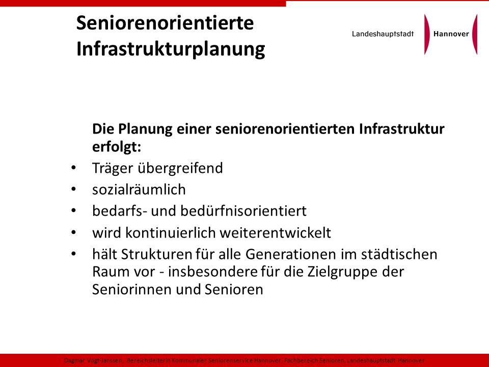 Seniorenorientierte Infrastrukturplanung