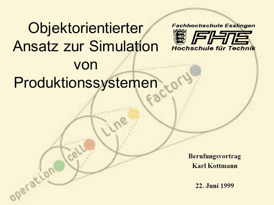 Objektorientierter Ansatz zur Simulation von Produktionssystemen