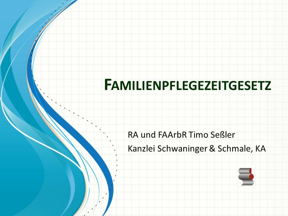 Familienpflegezeitgesetz