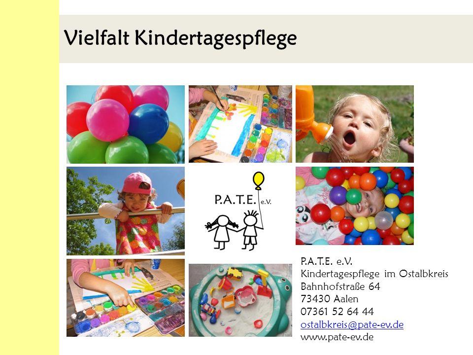 Vielfalt Kindertagespflege