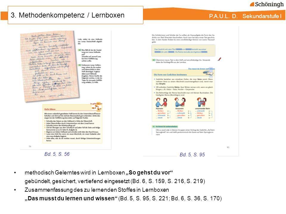 3. Methodenkompetenz / Lernboxen