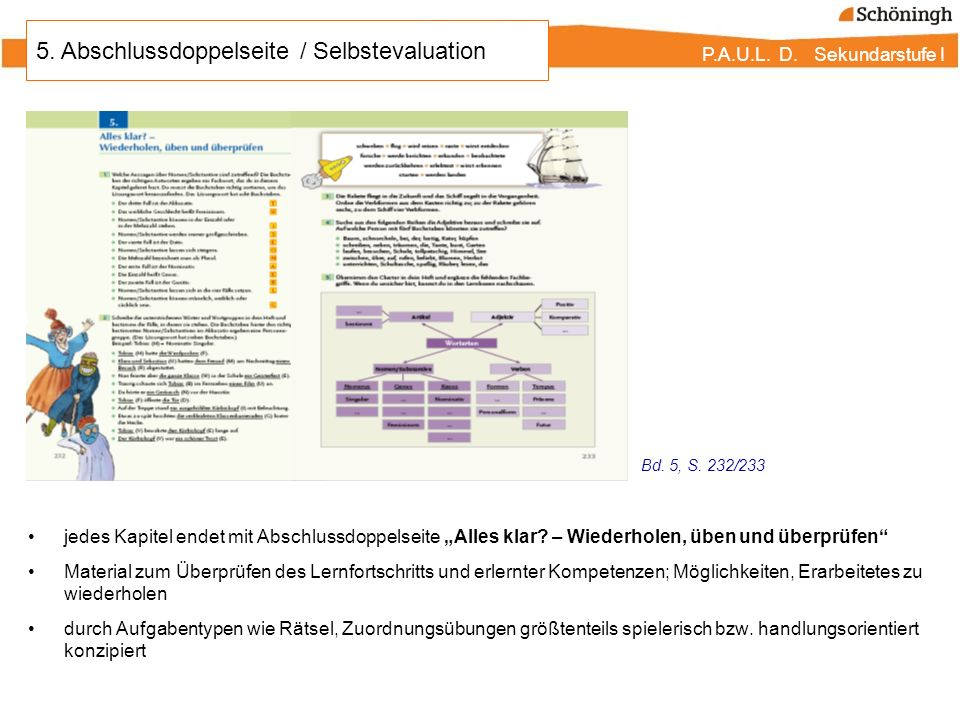 5. Abschlussdoppelseite / Selbstevaluation