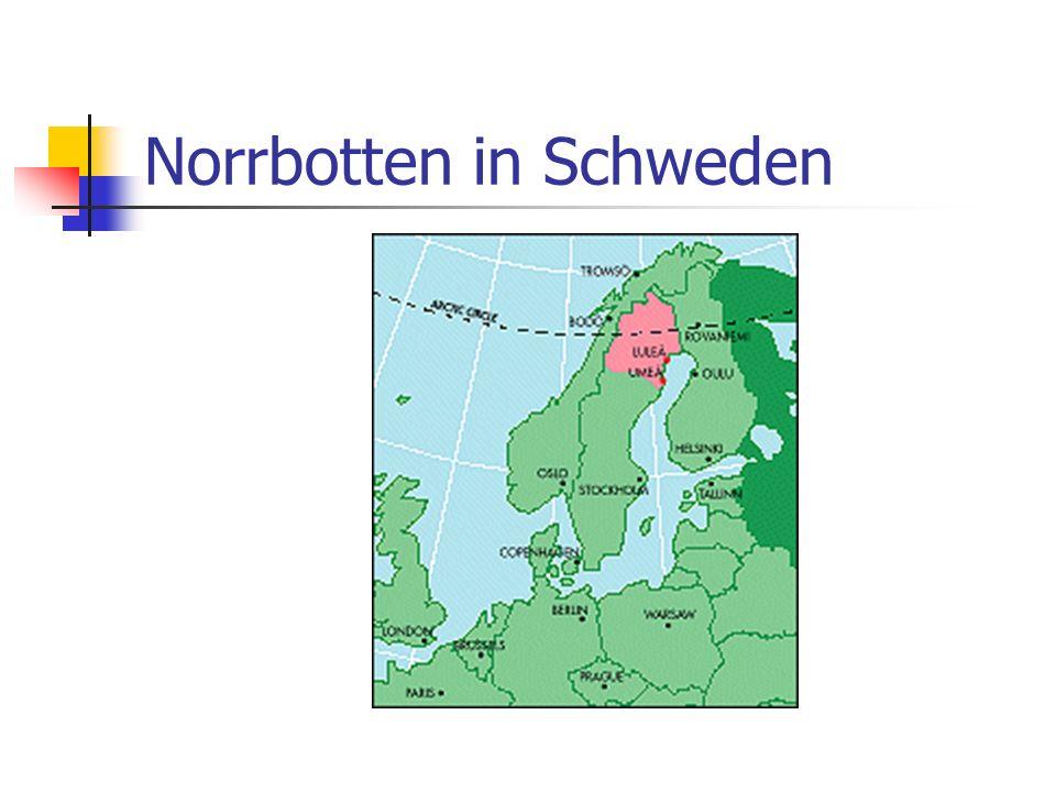 Norrbotten in Schweden
