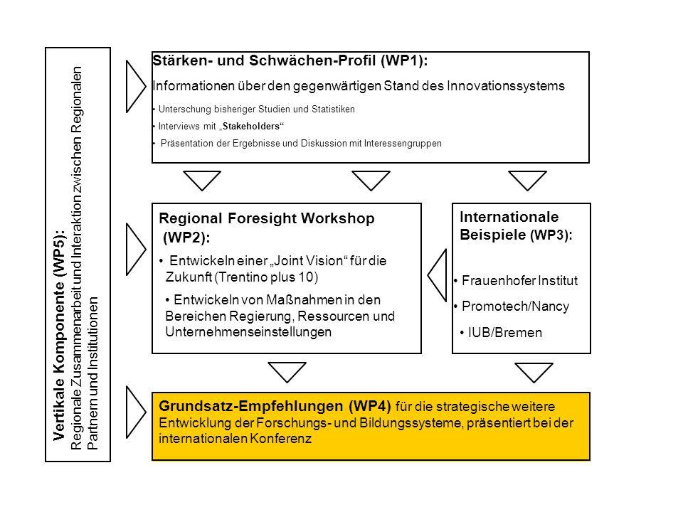 Stärken- und Schwächen-Profil (WP1):