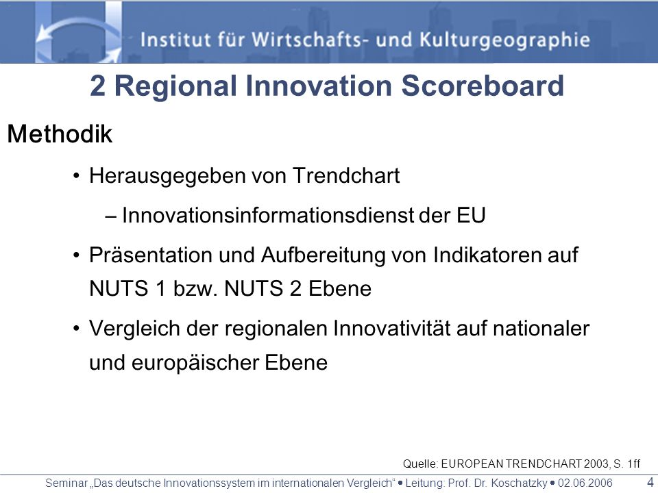 2 Regional Innovation Scoreboard