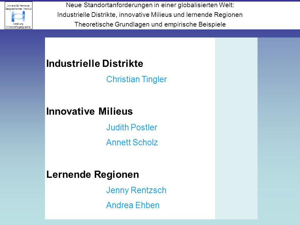 Industrielle Distrikte