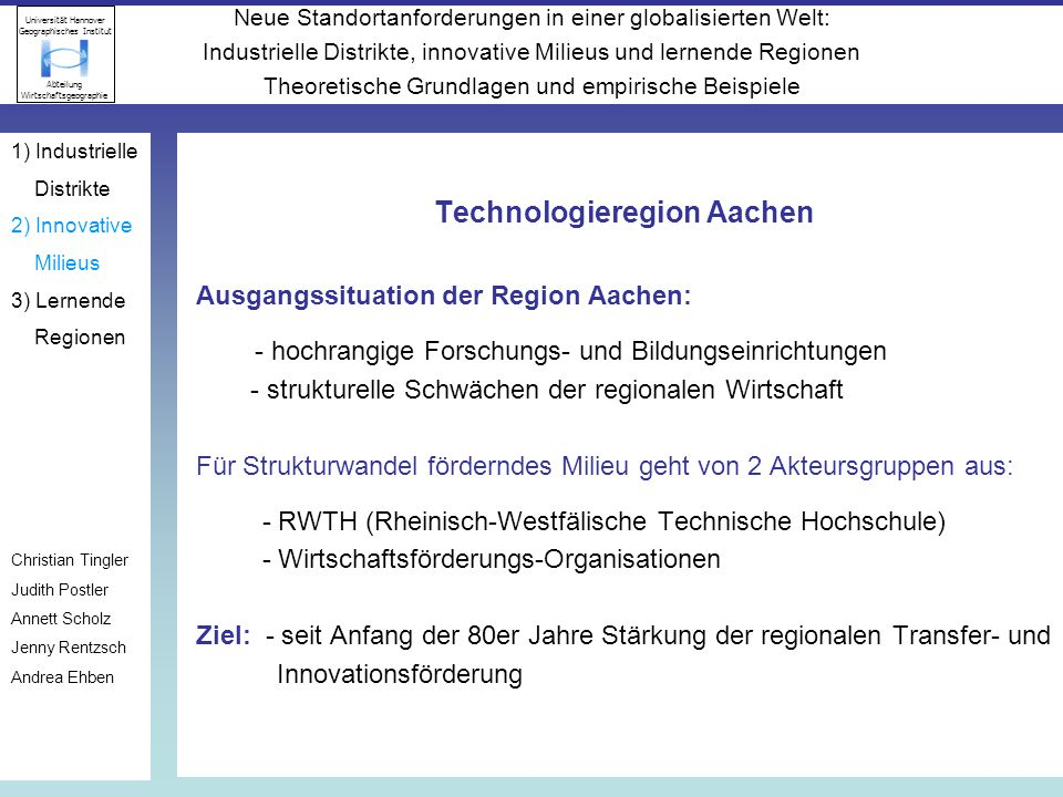 Technologieregion Aachen
