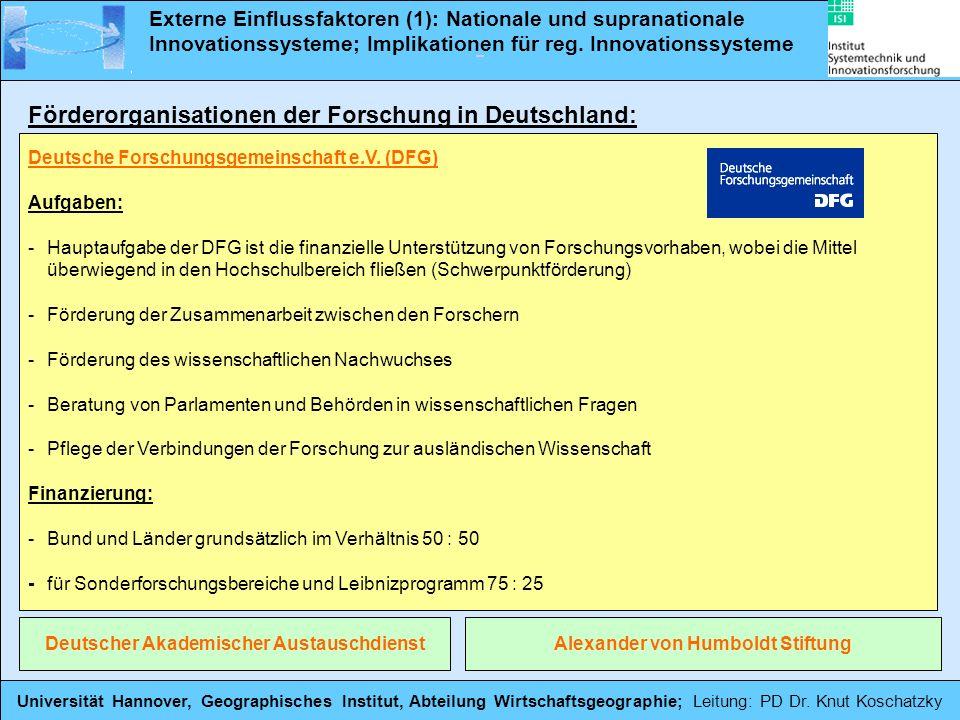Deutscher Akademischer Austauschdienst Alexander von Humboldt Stiftung