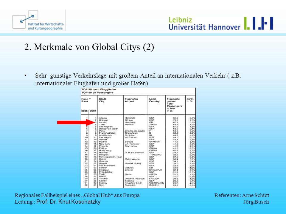 2. Merkmale von Global Citys (2)