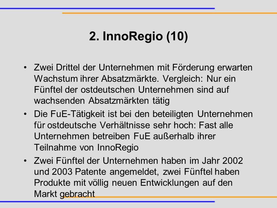 2. InnoRegio (10)