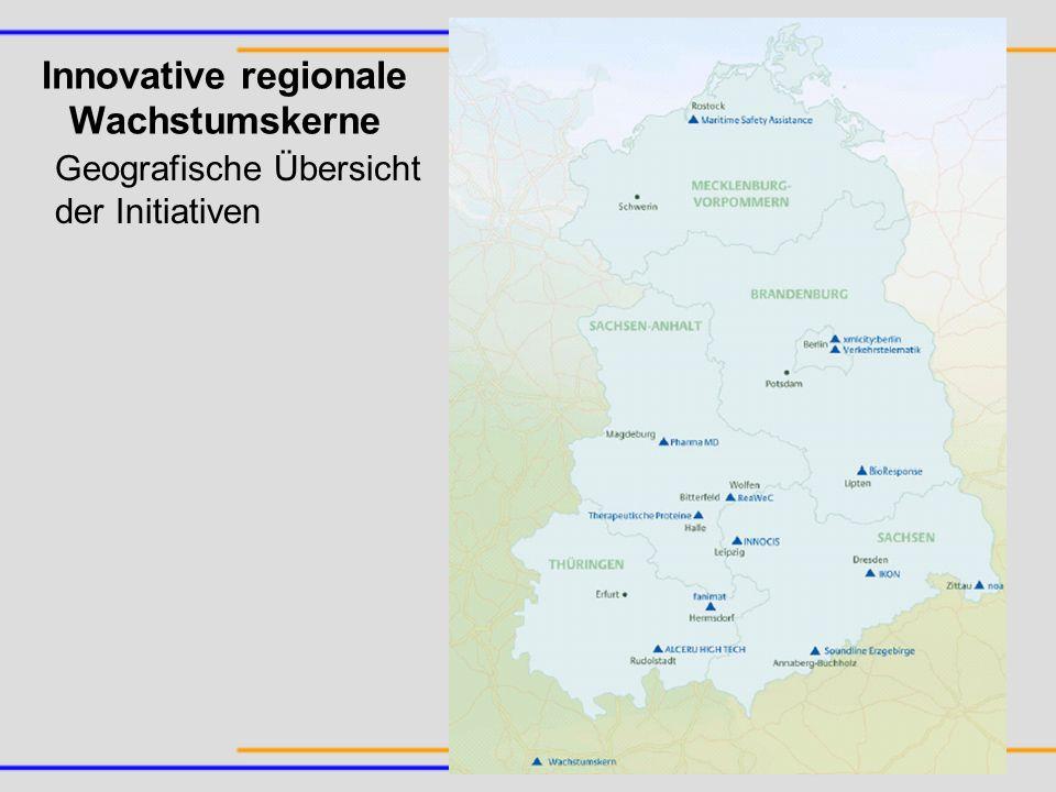Innovative regionale Wachstumskerne