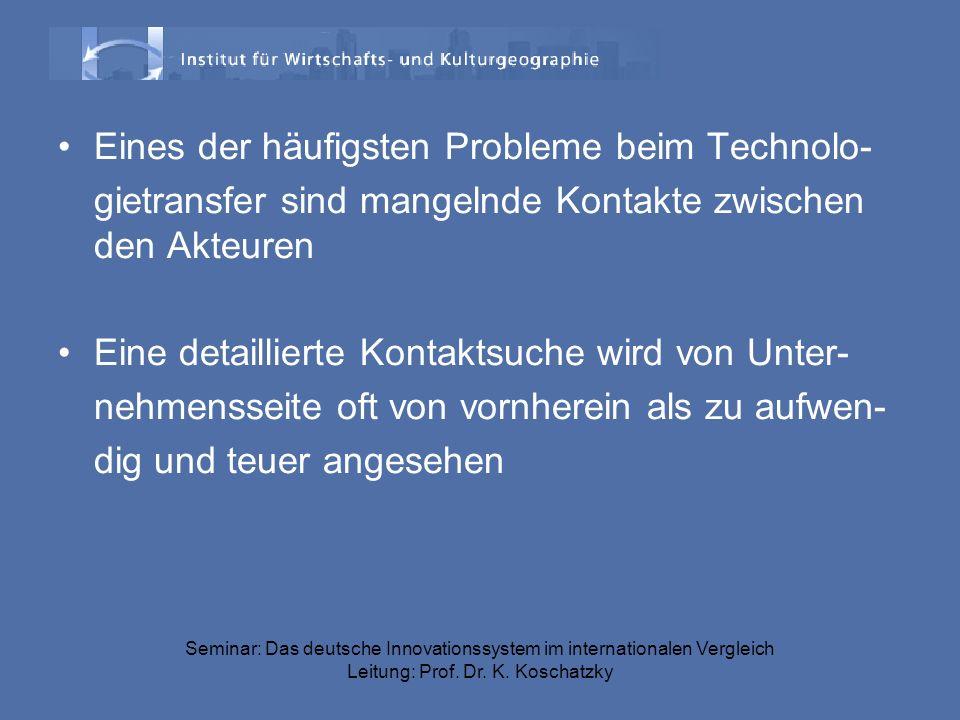 Eines der häufigsten Probleme beim Technolo-