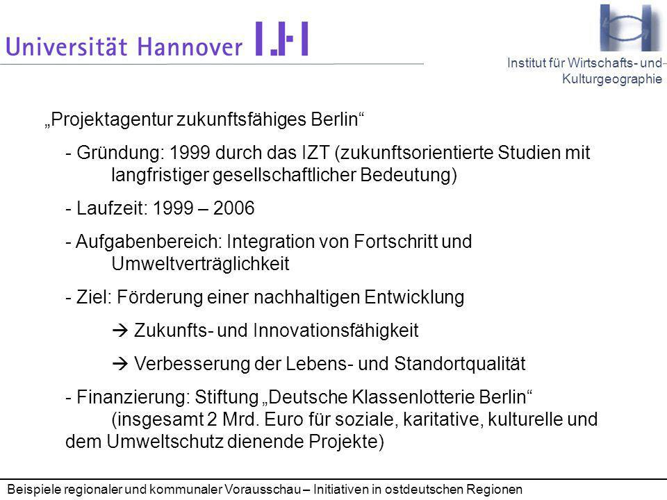"""Projektagentur zukunftsfähiges Berlin"