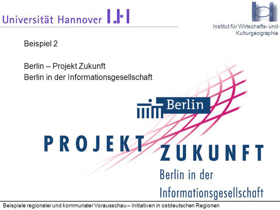 Berlin – Projekt Zukunft Berlin in der Informationsgesellschaft
