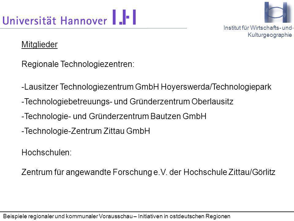 Regionale Technologiezentren:
