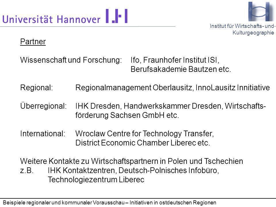 Wissenschaft und Forschung: Ifo, Fraunhofer Institut ISI,