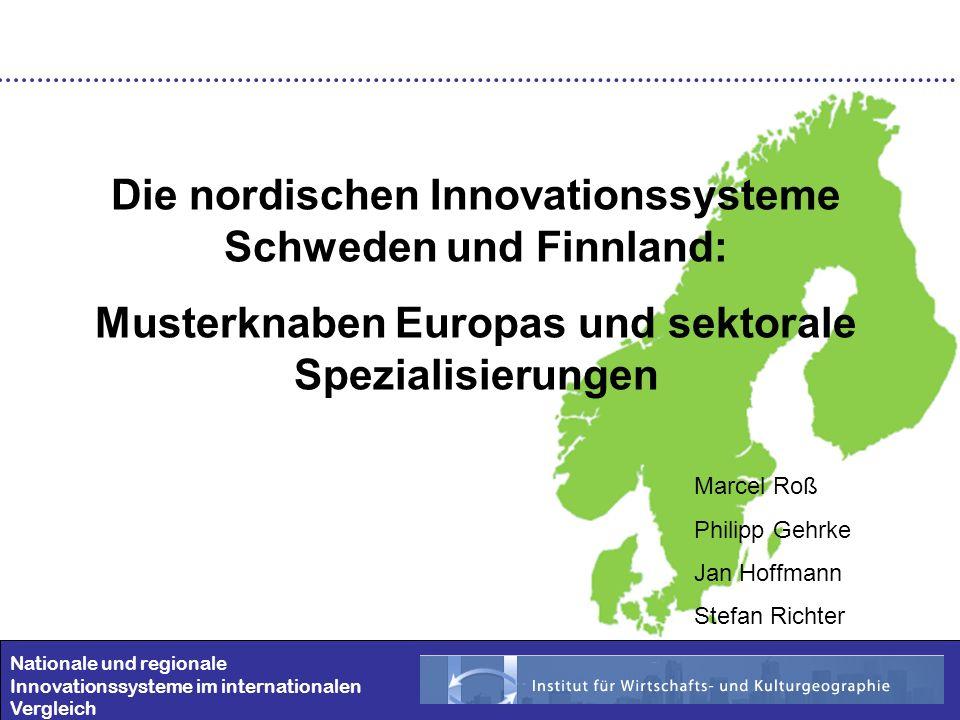 Die nordischen Innovationssysteme Schweden und Finnland: