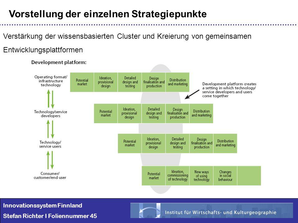 Vorstellung der einzelnen Strategiepunkte