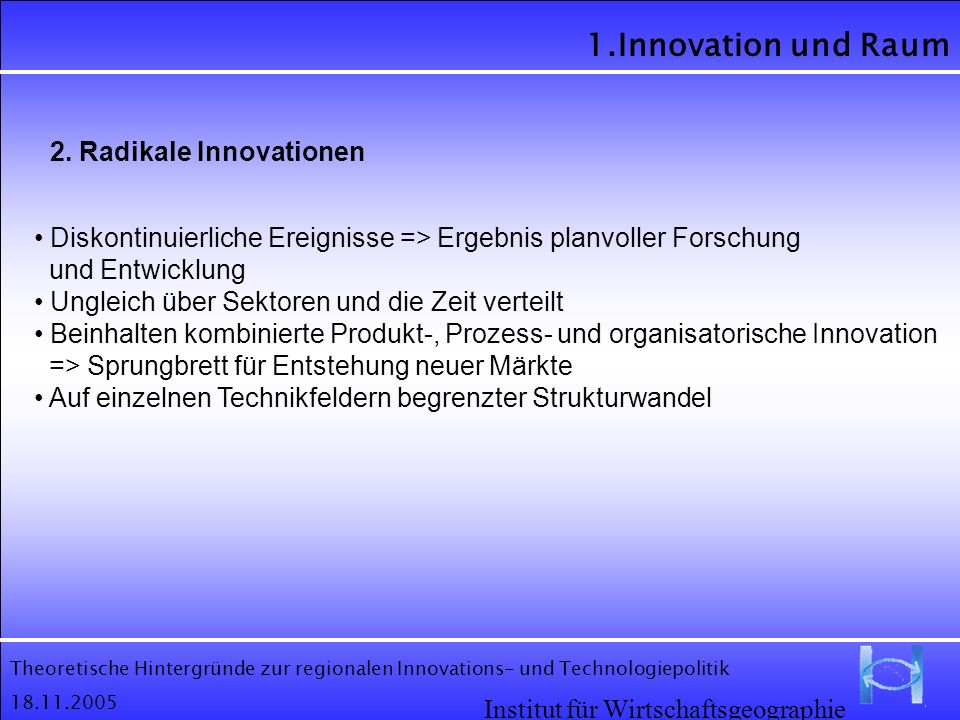 2. Radikale Innovationen