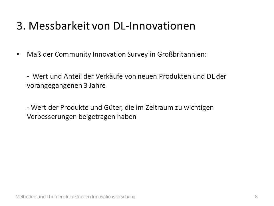 3. Messbarkeit von DL-Innovationen