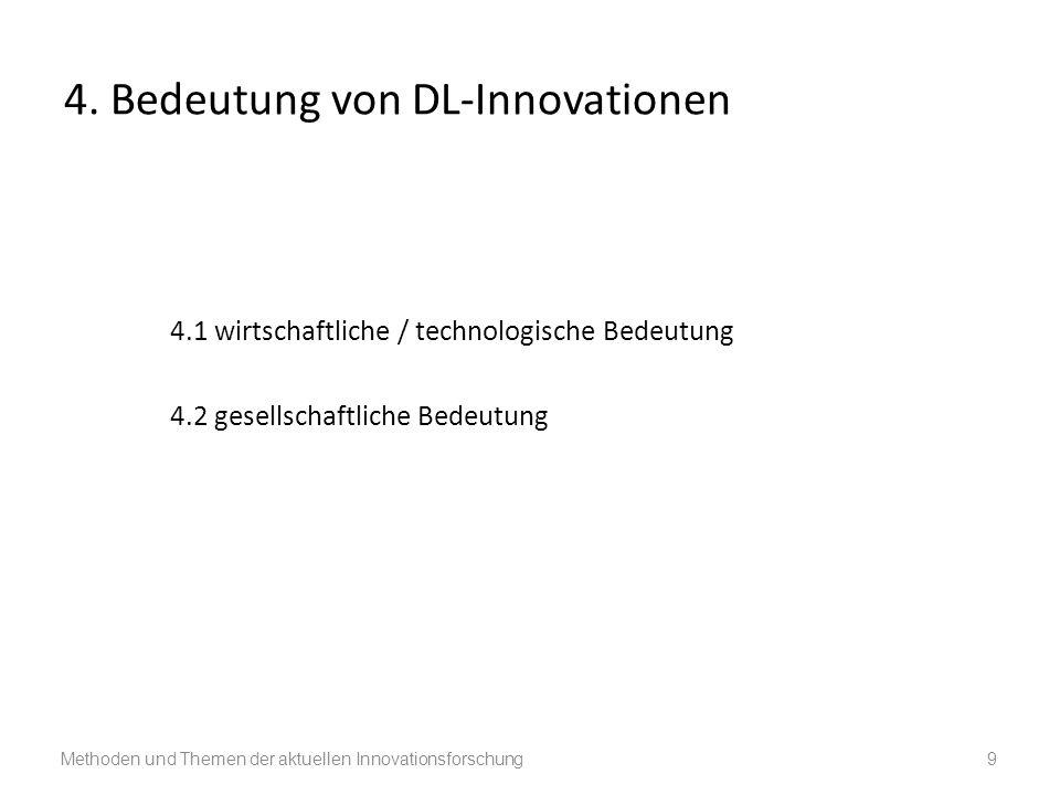 4. Bedeutung von DL-Innovationen